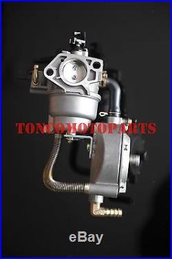 TONCO conversion kit Dual fuel carburetor 190F water pump GX420 LPG/NG/propane