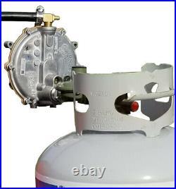 Tri-fuel Gas Generator Conversion Powerhorse 3500 Inverter Direct Propane Tank