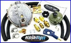 Tri-fuel Propane Natural Gas Conversion Kit Generator A-iPower AP10000E Venturi