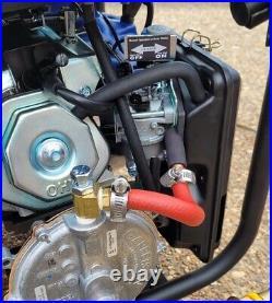 Tri-fuel Propane Natural Gas Predator 8750 Watt Inverter Generator Conversion