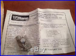 Williams Natural Gas To Propane Conversion Kit 8923