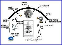 Yamaha MZ300 Natural Gas / Propane Conversion Kit